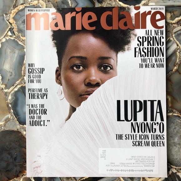 4️⃣/$12 March 2019 Marie Claire Magazine